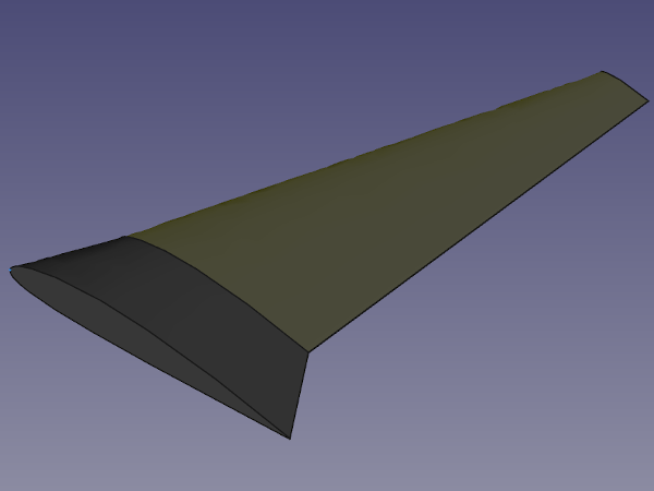The Final Wing Design